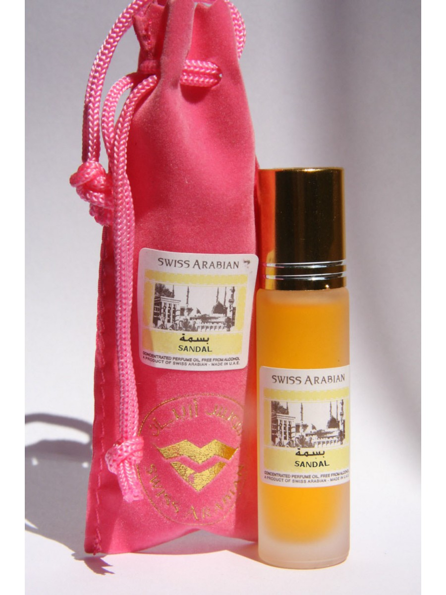Sandal 10ml, Concentrated Perfume Oil, unisex